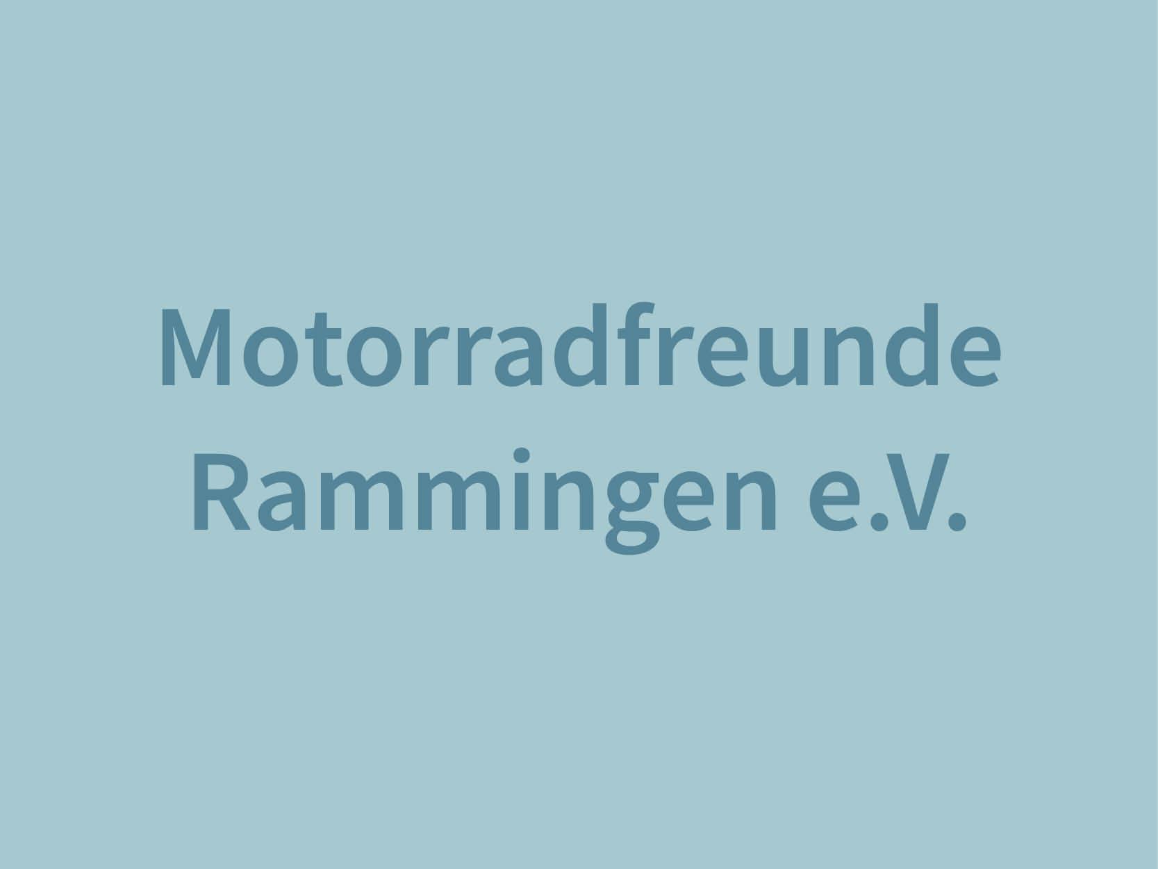 Motorradfreunde Rammingen e.V.