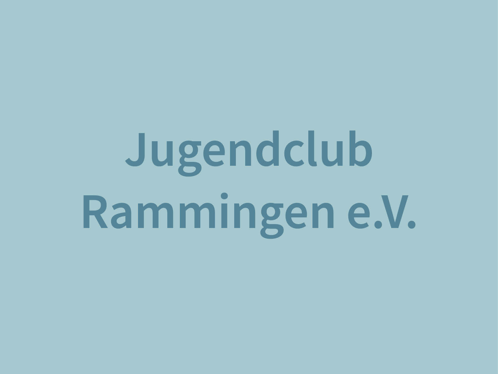 Jugendclub Rammingen e.V.