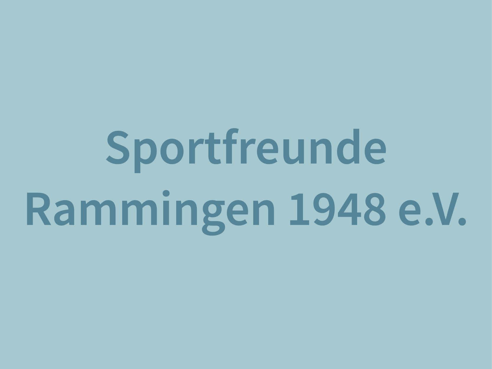 Sportfreunde Rammingen 1948 e.V.
