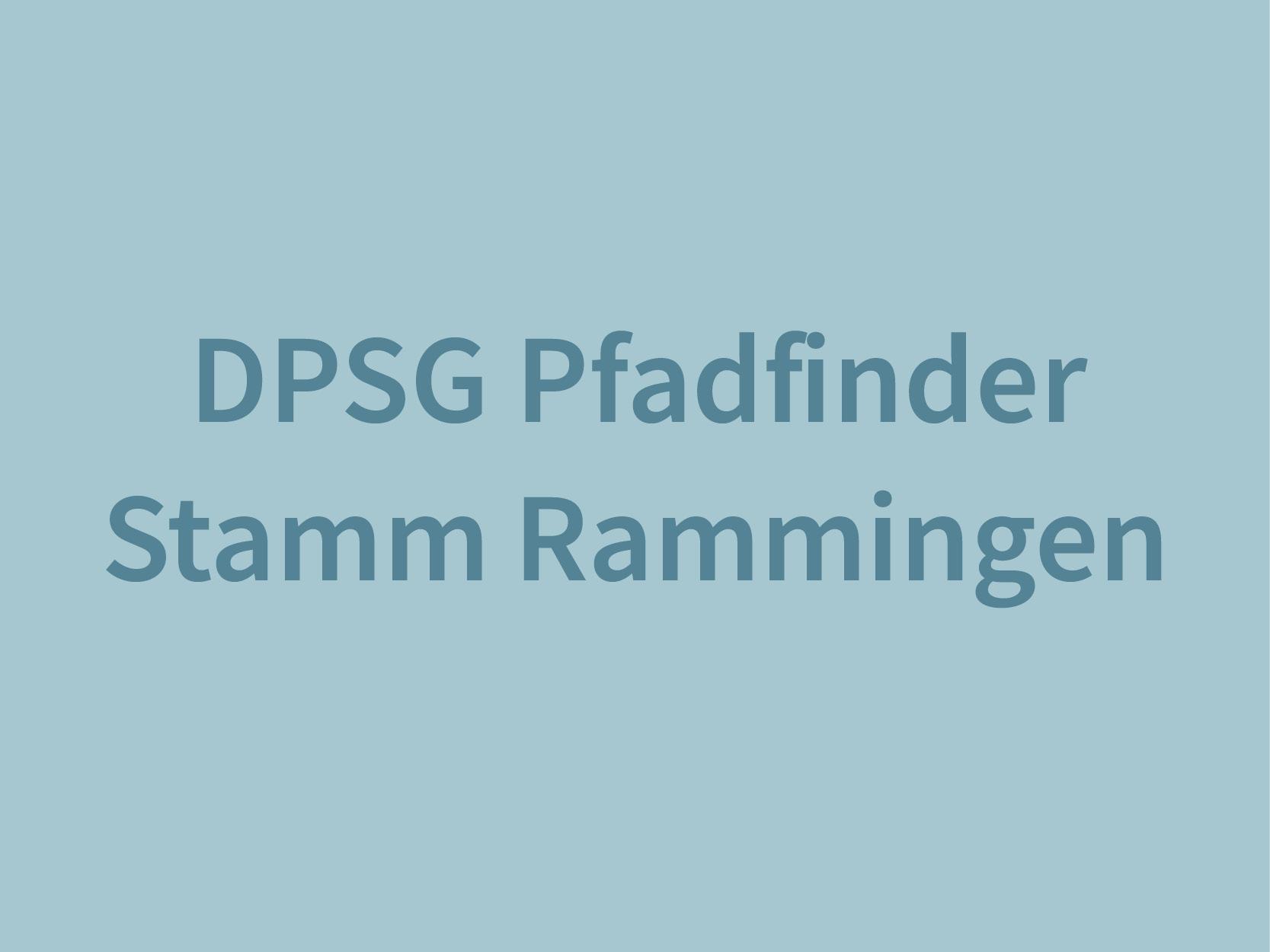 Deutsche Pfadfinder sankt georg Rammingen